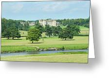 Floors Castle And River Tweed Greeting Card