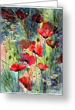 Floral Abracadabra Greeting Card