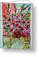 Floral Life Greeting Card