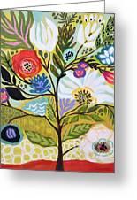 Flower Tree I    Greeting Card