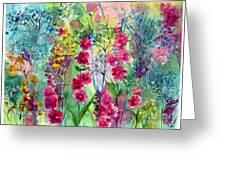 Flowery Fairy Tales Greeting Card