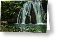 Flowing Falls  Greeting Card