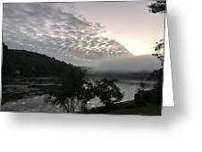 Fog Roll On Wataba Greeting Card