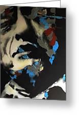Folsom Blues _ Johnny Cash  Greeting Card