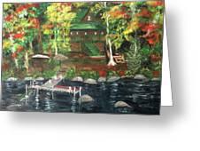 Fond Memories At Tupper Lake Greeting Card