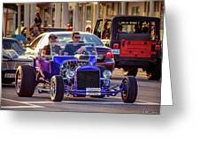 Ford T-bucket Hot Rod Greeting Card