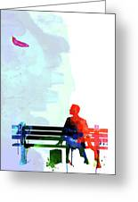 Forest Gump Watercolor II Greeting Card