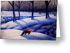 Fox Hunt Creek Greeting Card