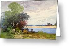 Fox River 1909 Greeting Card