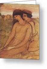 Francesca Da Rimini And Paolo Malatesta 1903 Greeting Card