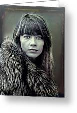 Francoise Hardy  Greeting Card