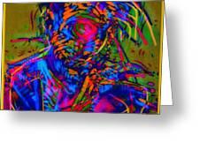 Free Your Jazz Self Greeting Card