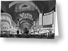 Fremont Street Experience, Las Vegas Greeting Card