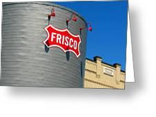 Frisco Museum  Greeting Card