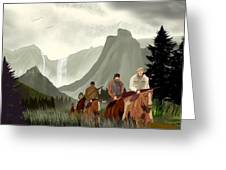 Frontier Trail Greeting Card