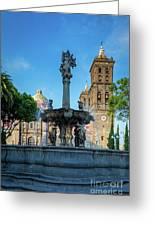 Fuente De Puebla Greeting Card