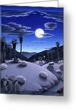 Full Moon Rising Greeting Card