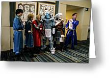 Fullmetal Alchemist Cosplayers Greeting Card