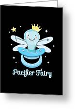 Fun Pacifier Fairy Boys To Give Up Pacifiers Greeting Card