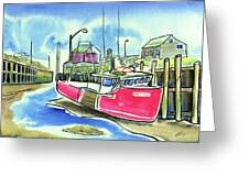 Fundy Tide Hall's Harbour Greeting Card