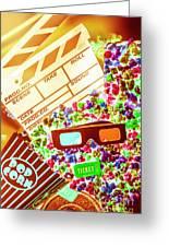 Funky Film Festival Greeting Card