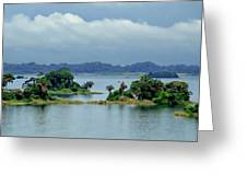 Gatun Lake Islands Greeting Card