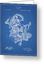 Gear Patent Design Greeting Card