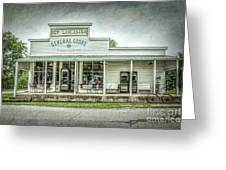 General Store Greeting Card