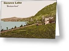 Geneva Lake Greeting Card