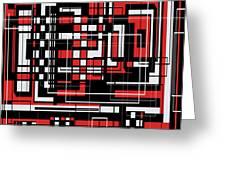 Geometric Stylization 2 Greeting Card