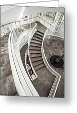 Getty Stairs Greeting Card