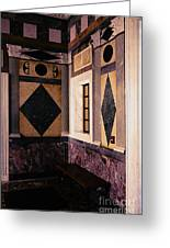 Getty Villa Interior  Greeting Card