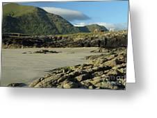 Glassilaun Beach Connemara Greeting Card