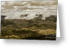Glorious Cloud Cover Greeting Card