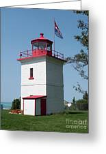 Goderich Lighthouse Greeting Card