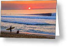 Gold Cup Sunset Greeting Card