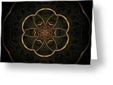 Gold Inlay Greeting Card