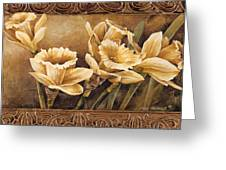 Golden Daffodils II    Greeting Card