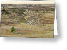 Golden Dakota Prairie Reverie Greeting Card