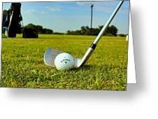 Golf Day Greeting Card