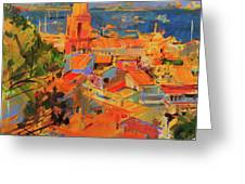 Golfe De Saint-tropez Greeting Card