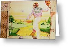 Goodbye Yellow Brick Road Greeting Card