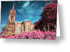 Gothic Style Chapel Greeting Card
