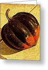 Gourd On Tile Greeting Card
