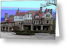 Graceland Mansion  Greeting Card