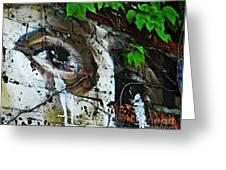 Graffiti On West 107 Street Greeting Card