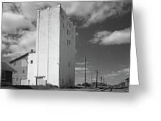 Grain Elevator, 2001 Greeting Card