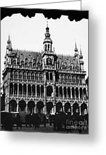 Grand Palace, Brussels Greeting Card