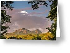 Grandfather Mountain Framed Greeting Card by Ken Barrett