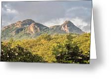 Grandfather Mountain Greeting Card by Ken Barrett